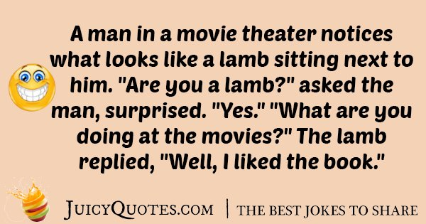 Lamb At The Movies Joke