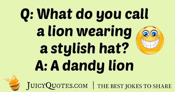 Lion Hat Joke