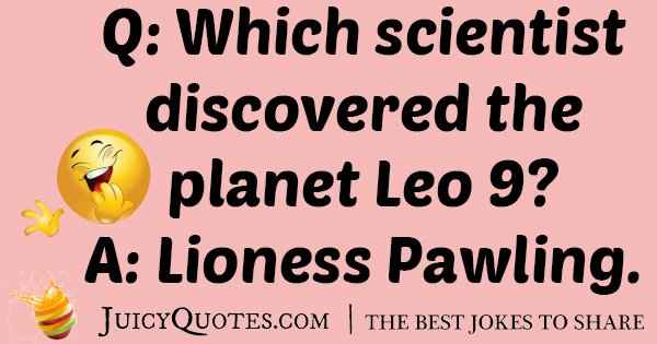 Scientist Discovered Lion 9 Joke